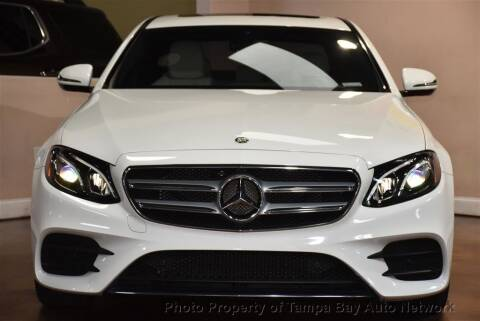 2018 Mercedes-Benz E-Class for sale at Tampa Bay AutoNetwork in Tampa FL