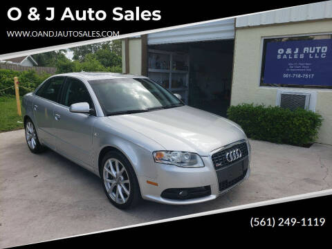 2008 Audi A4 for sale at O & J Auto Sales in Royal Palm Beach FL
