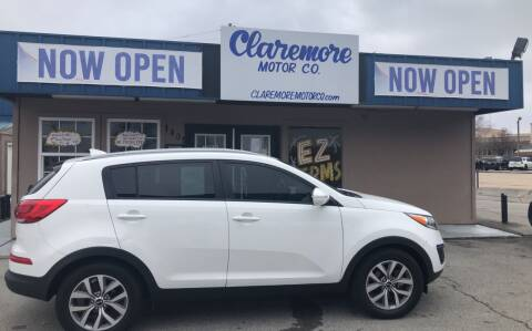 2015 Kia Sportage for sale at Claremore Motor Company in Claremore OK