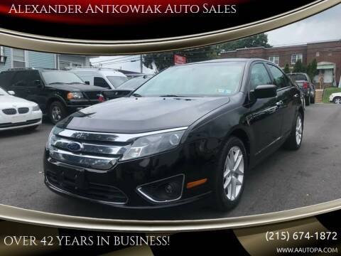 2012 Ford Fusion for sale at Alexander Antkowiak Auto Sales in Hatboro PA