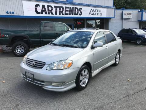 2004 Toyota Corolla for sale at Car Trends 2 in Renton WA