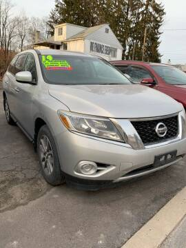 2014 Nissan Pathfinder for sale at Alpha Motors in Scranton PA