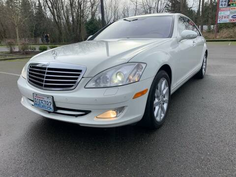 2007 Mercedes-Benz S-Class for sale at CAR MASTER PROS AUTO SALES in Lynnwood WA