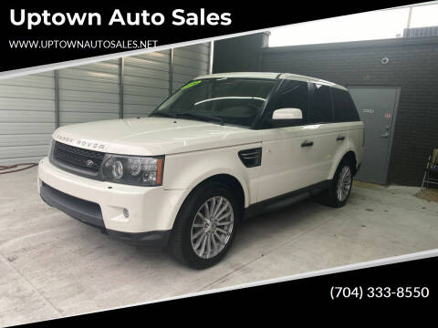 2010 Land Rover Range Rover Sport for sale at Uptown Auto Sales in Charlotte NC