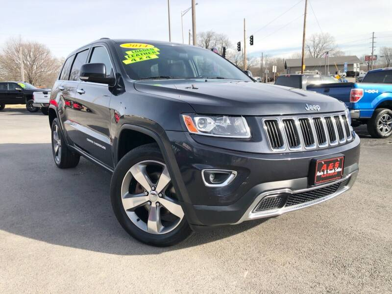 2014 Jeep Grand Cherokee for sale at A & S Auto and Truck Sales in Platte City MO