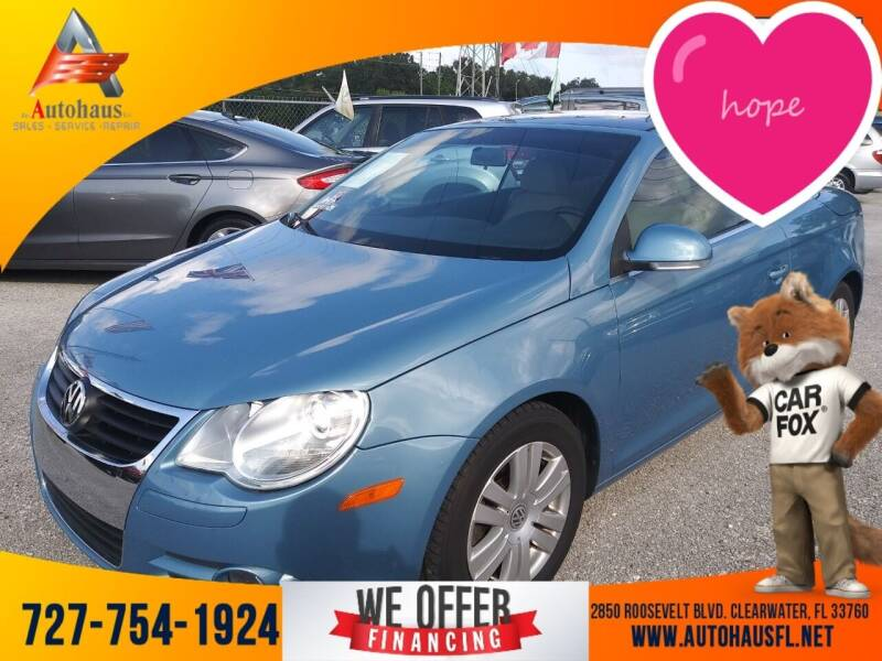 2008 Volkswagen Eos for sale at Das Autohaus Quality Used Cars in Clearwater FL