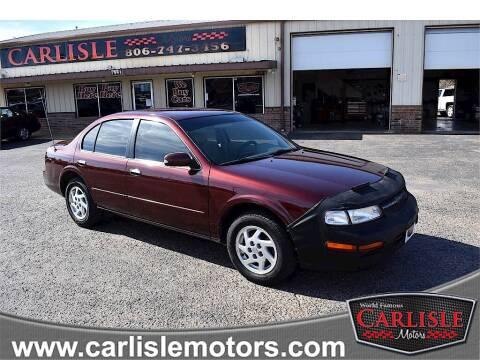 1999 Nissan Maxima for sale at Carlisle Motors in Lubbock TX