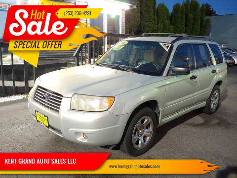 2006 Subaru Forester for sale at KENT GRAND AUTO SALES LLC in Kent WA