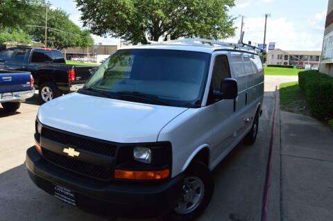 2013 Chevrolet Express Cargo for sale at E-Auto Groups in Dallas TX