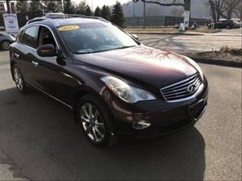 2012 Infiniti EX35 for sale at Wilton Auto Park.com in Wilton CT