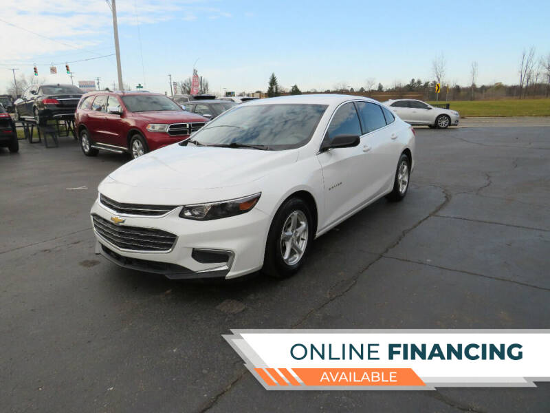 2017 Chevrolet Malibu for sale at A to Z Auto Financing in Waterford MI
