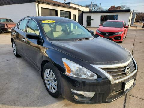 2015 Nissan Altima for sale at GOOD NEWS AUTO SALES in Fargo ND