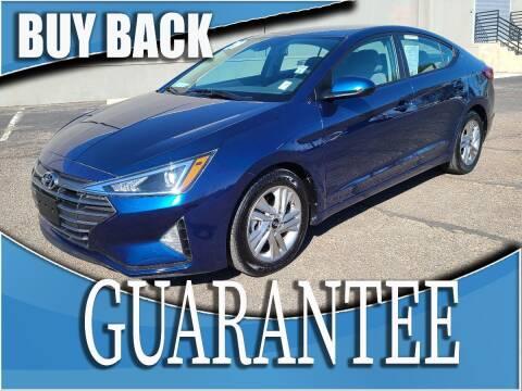 2020 Hyundai Elantra for sale at Reliable Auto Sales in Las Vegas NV