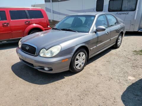 2004 Hyundai Sonata for sale at Revolution Auto Group in Idaho Falls ID