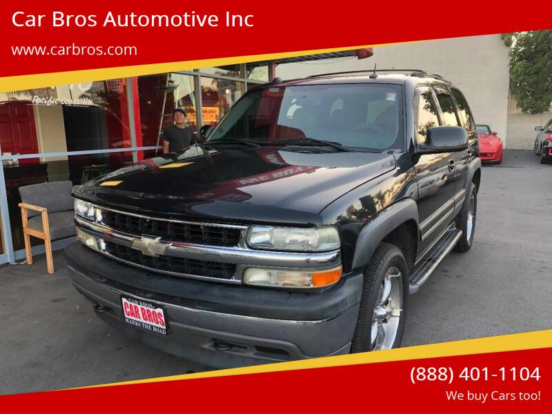2005 Chevrolet Tahoe for sale at Car Bros Automotive Inc in Lomita CA