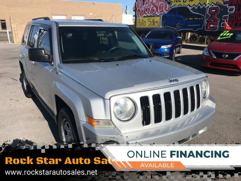 2010 Jeep Patriot for sale at Rock Star Auto Sales in Las Vegas NV