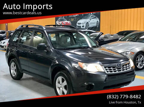 2012 Subaru Forester for sale at Auto Imports in Houston TX