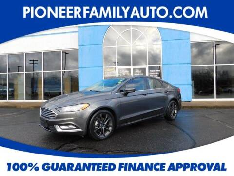 2018 Ford Fusion for sale at Pioneer Family auto in Marietta OH