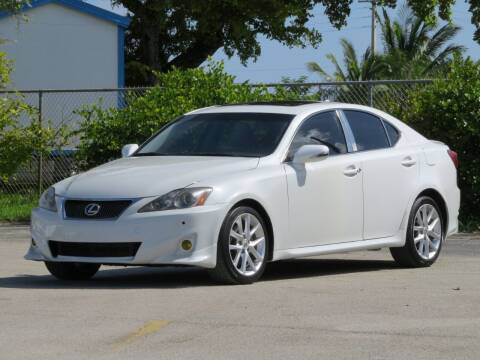 2012 Lexus IS 250 for sale at DK Auto Sales in Hollywood FL