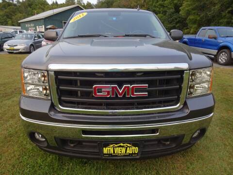 2011 GMC Sierra 1500 for sale at MOUNTAIN VIEW AUTO in Lyndonville VT