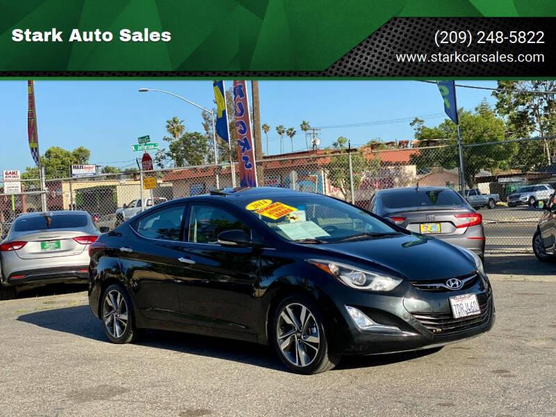 2014 Hyundai Elantra for sale at Stark Auto Sales in Modesto CA