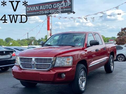 2008 Dodge Dakota for sale at Divan Auto Group in Feasterville PA