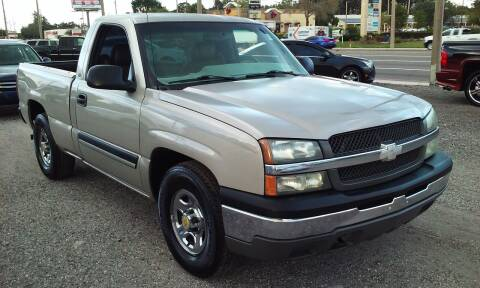 2004 Chevrolet Silverado 1500 for sale at Pinellas Auto Brokers in Saint Petersburg FL