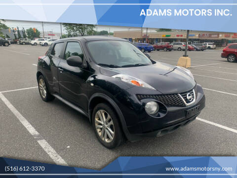 2013 Nissan JUKE for sale at Adams Motors INC. in Inwood NY