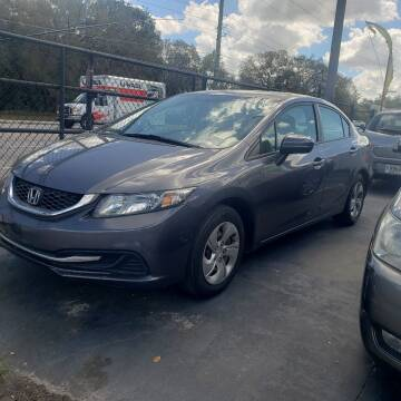 2015 Honda Civic for sale at 4 Guys Auto in Tampa FL