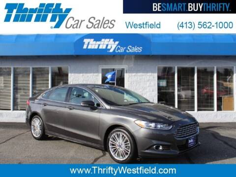 2016 Ford Fusion for sale at Thrifty Car Sales Westfield in Westfield MA
