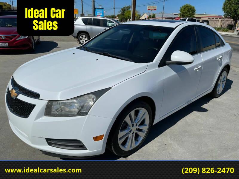 2011 Chevrolet Cruze for sale at Ideal Car Sales in Los Banos CA