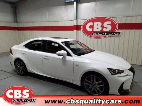 2017 Lexus IS 200t for sale at CBS Quality Cars in Durham NC