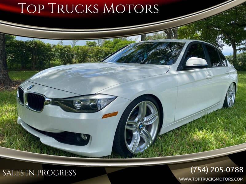 2013 BMW 3 Series for sale at Top Trucks Motors in Pompano Beach FL