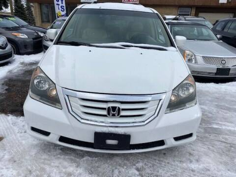 2010 Honda Odyssey for sale at NORTH CHICAGO MOTORS INC in North Chicago IL