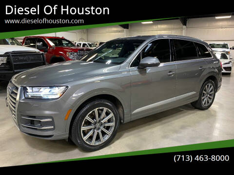 2017 Audi Q7 for sale at Diesel Of Houston in Houston TX