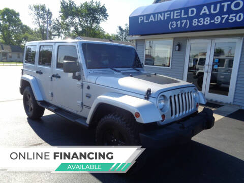 2012 Jeep Wrangler Unlimited for sale at Plainfield Auto Sales in Plainfield IN
