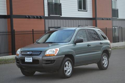 2008 Kia Sportage for sale at Skyline Motors Auto Sales in Tacoma WA