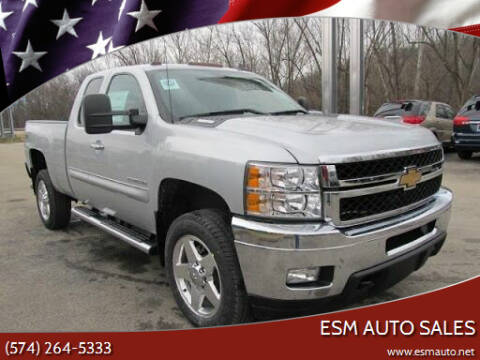 2012 Chevrolet Silverado 2500HD for sale at ESM Auto Sales in Elkhart IN
