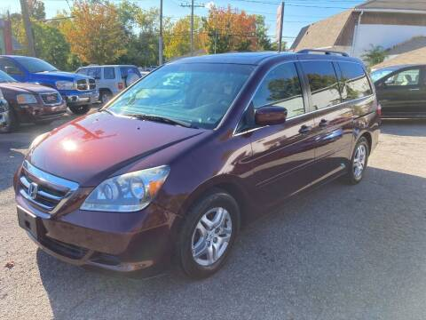 2007 Honda Odyssey for sale at ENFIELD STREET AUTO SALES in Enfield CT