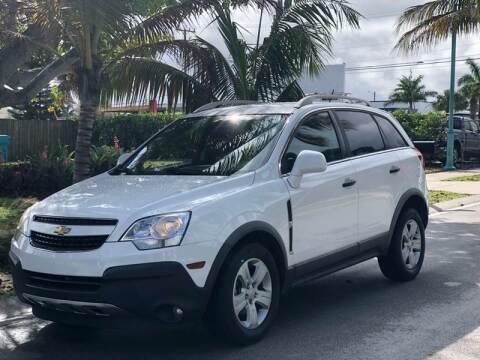 2014 Chevrolet Captiva Sport for sale at L G AUTO SALES in Boynton Beach FL