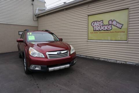 2012 Subaru Outback for sale at Cars Trucks & More in Howell MI