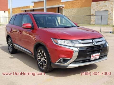 2016 Mitsubishi Outlander for sale at DON HERRING MITSUBISHI in Irving TX