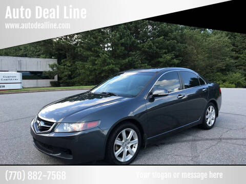 2005 Acura TSX for sale at Auto Deal Line in Alpharetta GA