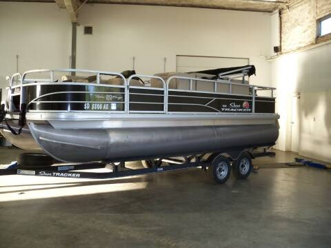 2019 SUNTRACKER 20 FT FISH BARGE for sale at Tyndall Motors in Tyndall SD