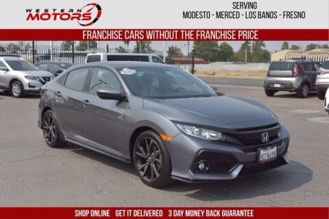 2018 Honda Civic for sale at Choice Motors in Merced CA
