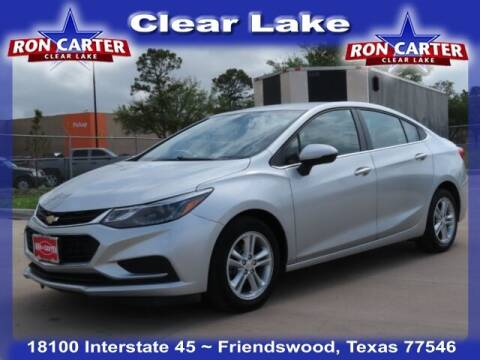 2018 Chevrolet Cruze for sale at Ron Carter  Clear Lake Used Cars in Houston TX