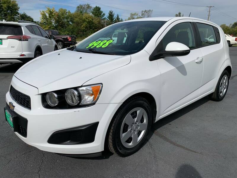 2016 Chevrolet Sonic for sale at FREDDY'S BIG LOT in Delaware OH