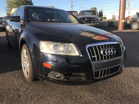 2008 Audi A6 for sale at BELOW BOOK AUTO SALES in Idaho Falls ID