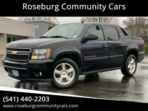 2007 Chevrolet Avalanche for sale at Roseburg Community Cars in Roseburg OR