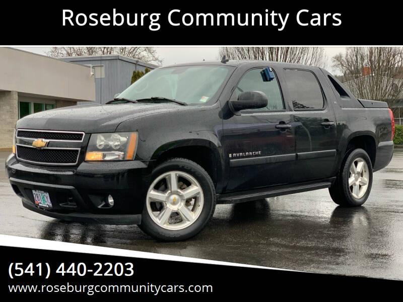 2007 Chevrolet Avalanche for sale at Roseburg Community Cars in Roseburg OR